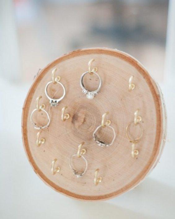 Wood Round RIng Holder - Easy DIY
