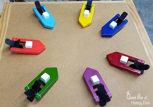 DIY Wooden Toy Boat
