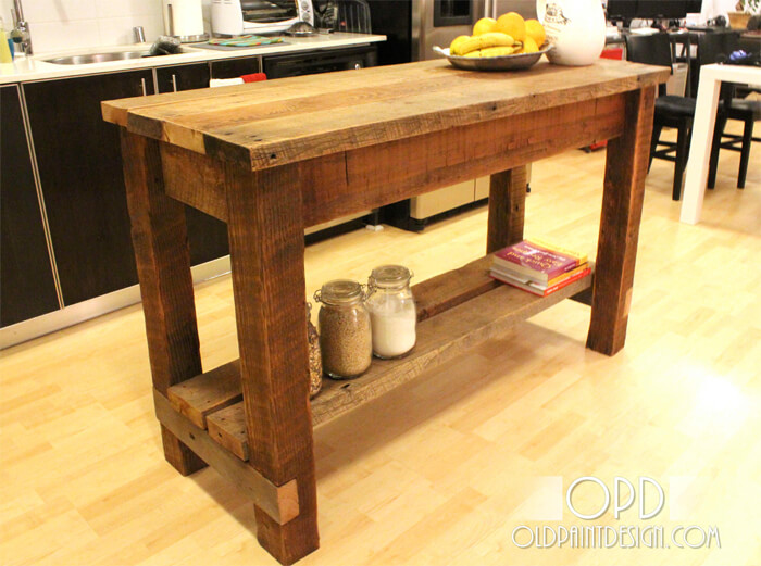 DIY Gaby Kitchen Island