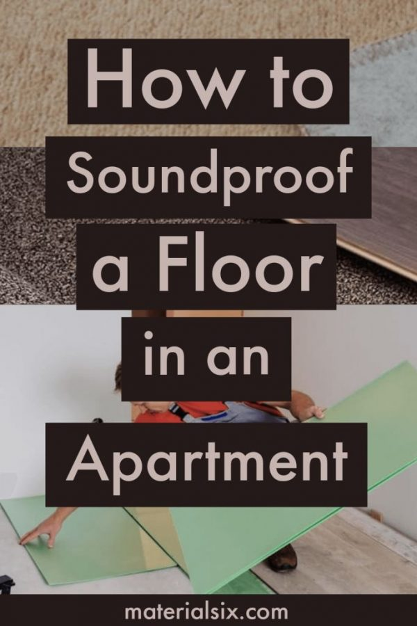 How to Soundproof the Floor in Apartment