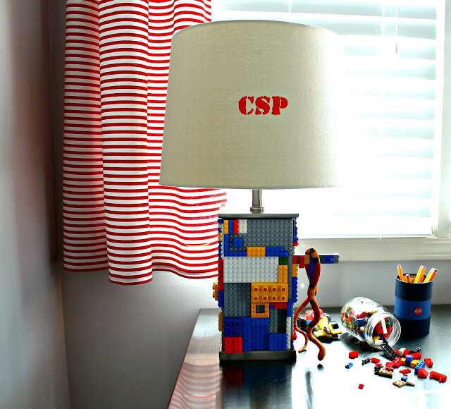 DIY Unique Lego Lamp