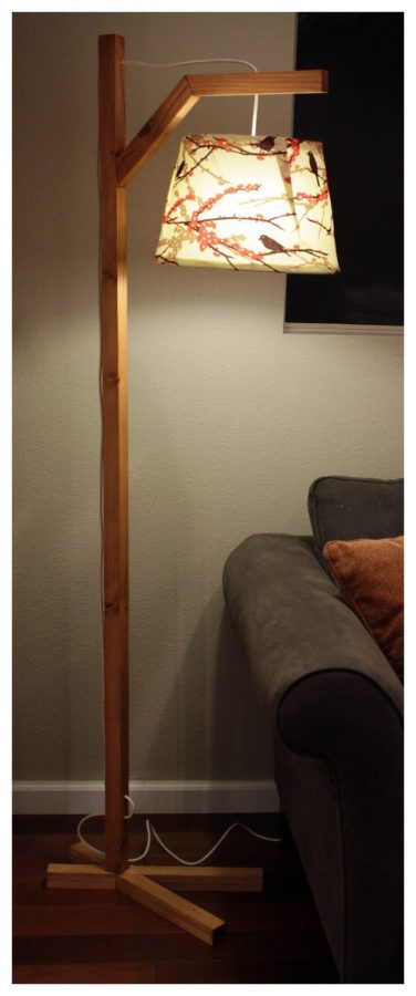Nature Inspired Floor Lamp
