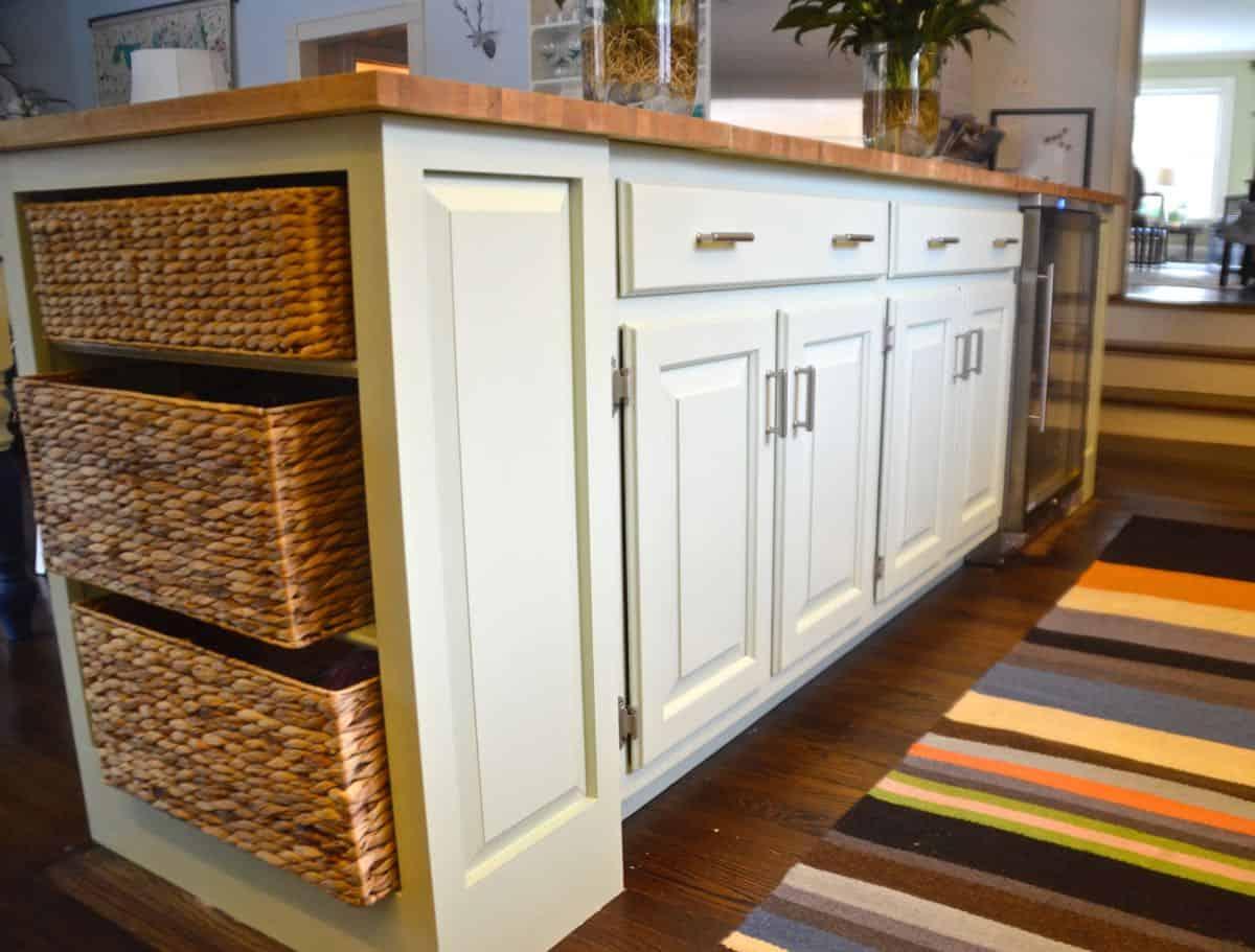 Restore Cabinet Turned Kitchen Island