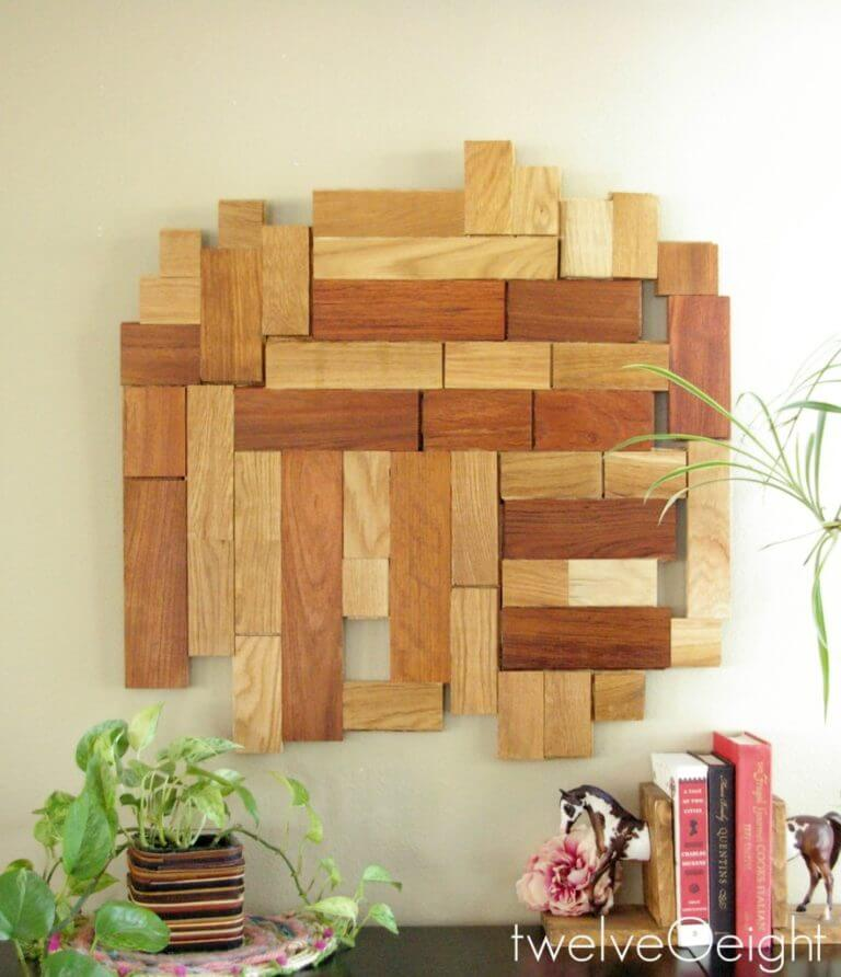 Scrap Wood Wall Hanging