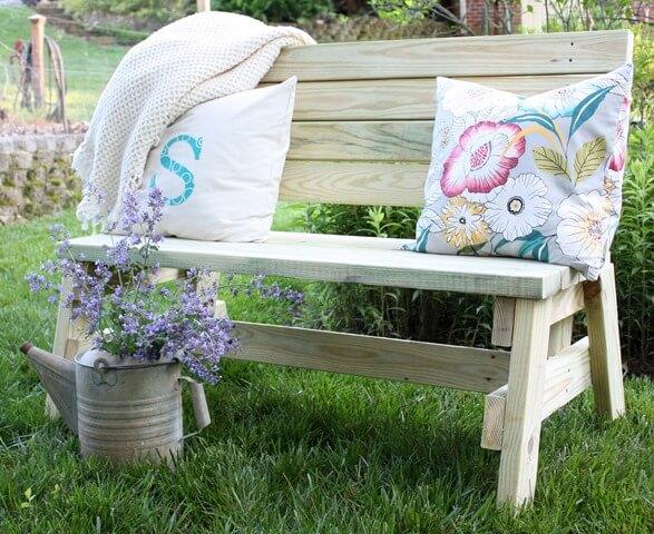 Simple Garden Bench