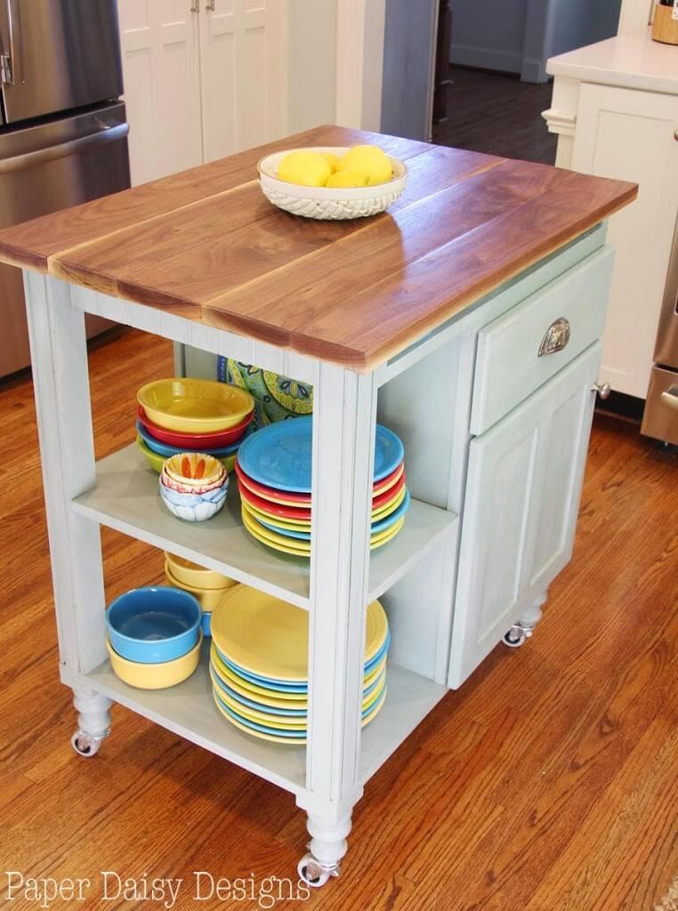 Small Kitchen Island Cart
