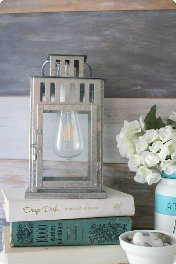 Turn a Lantern into a Lamp - DIY lamp ideas