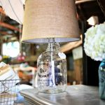 DIY Vintage Bottle Lamp