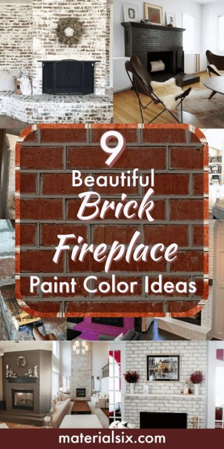 What Color Should I Paint My Brick Fireplace Materialsix Com