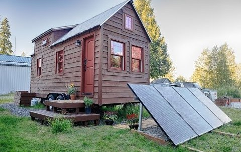 solar panel system for tiny house