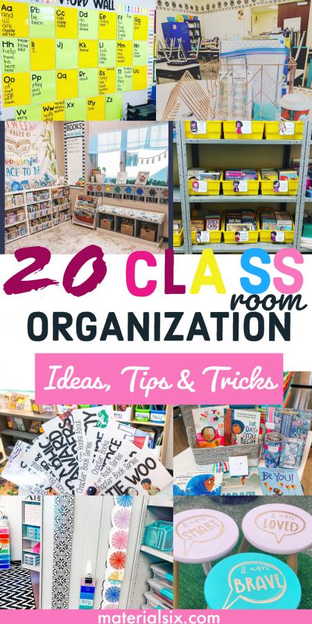 20 Excellent Classroom Organization Ideas