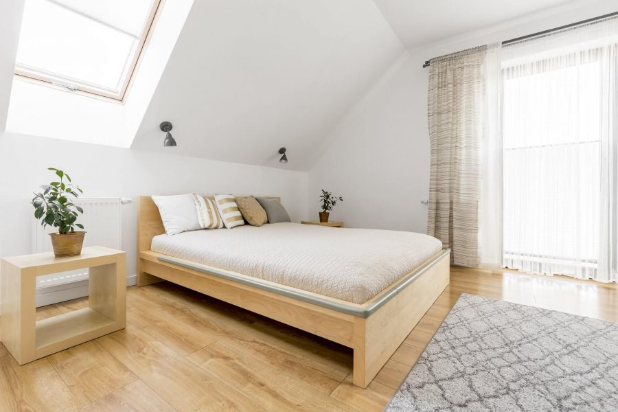 Simple Attic Bedroom Ideas