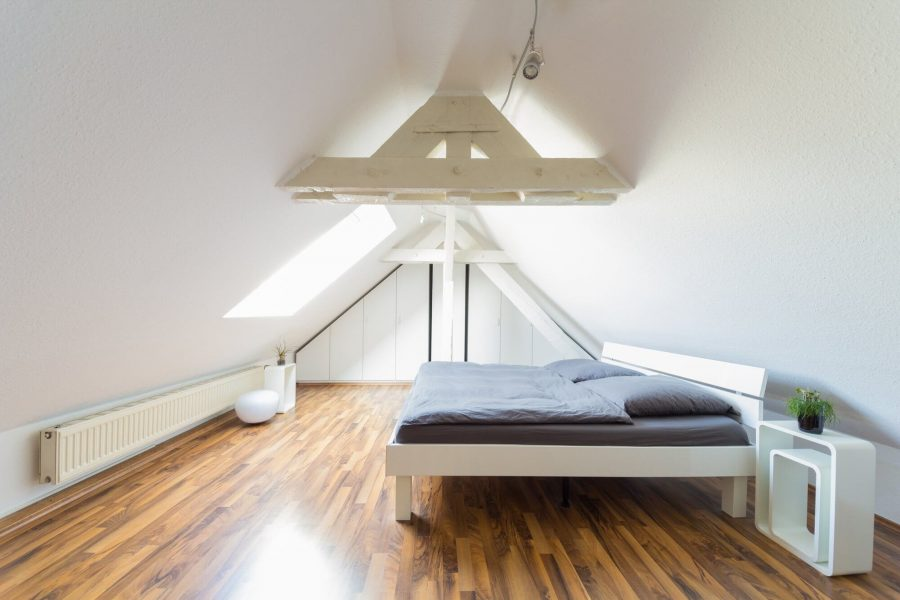 Futuristic Attic Bedroom Ideas