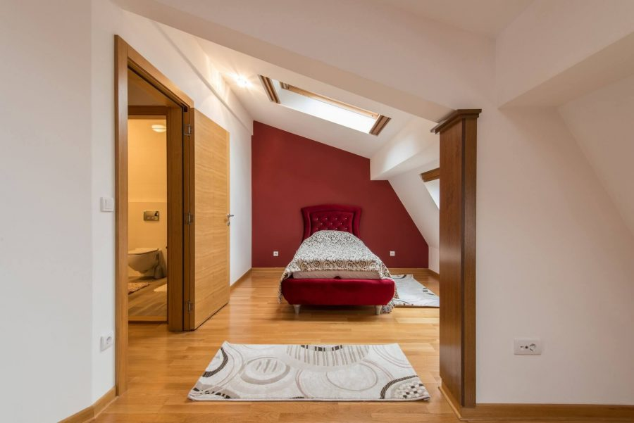 Modern Attic Bedroom