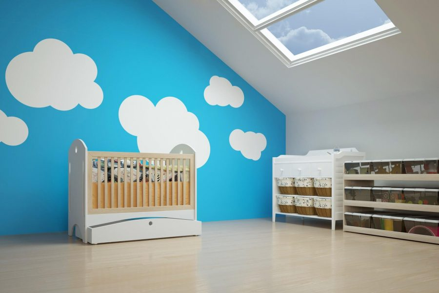 Attic Bedroom Ideas for Babies