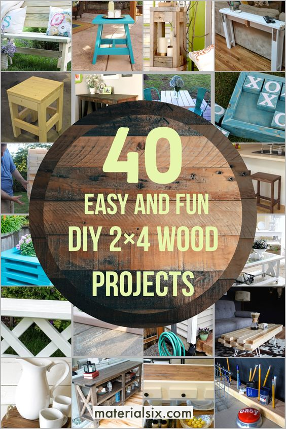 DIY 2x4 Wood Projects