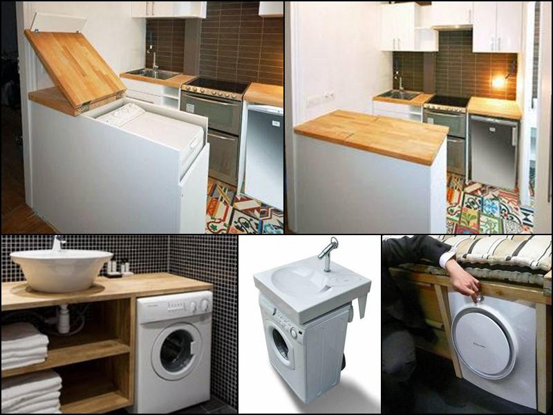 Laundry room organization ideas for tiny house