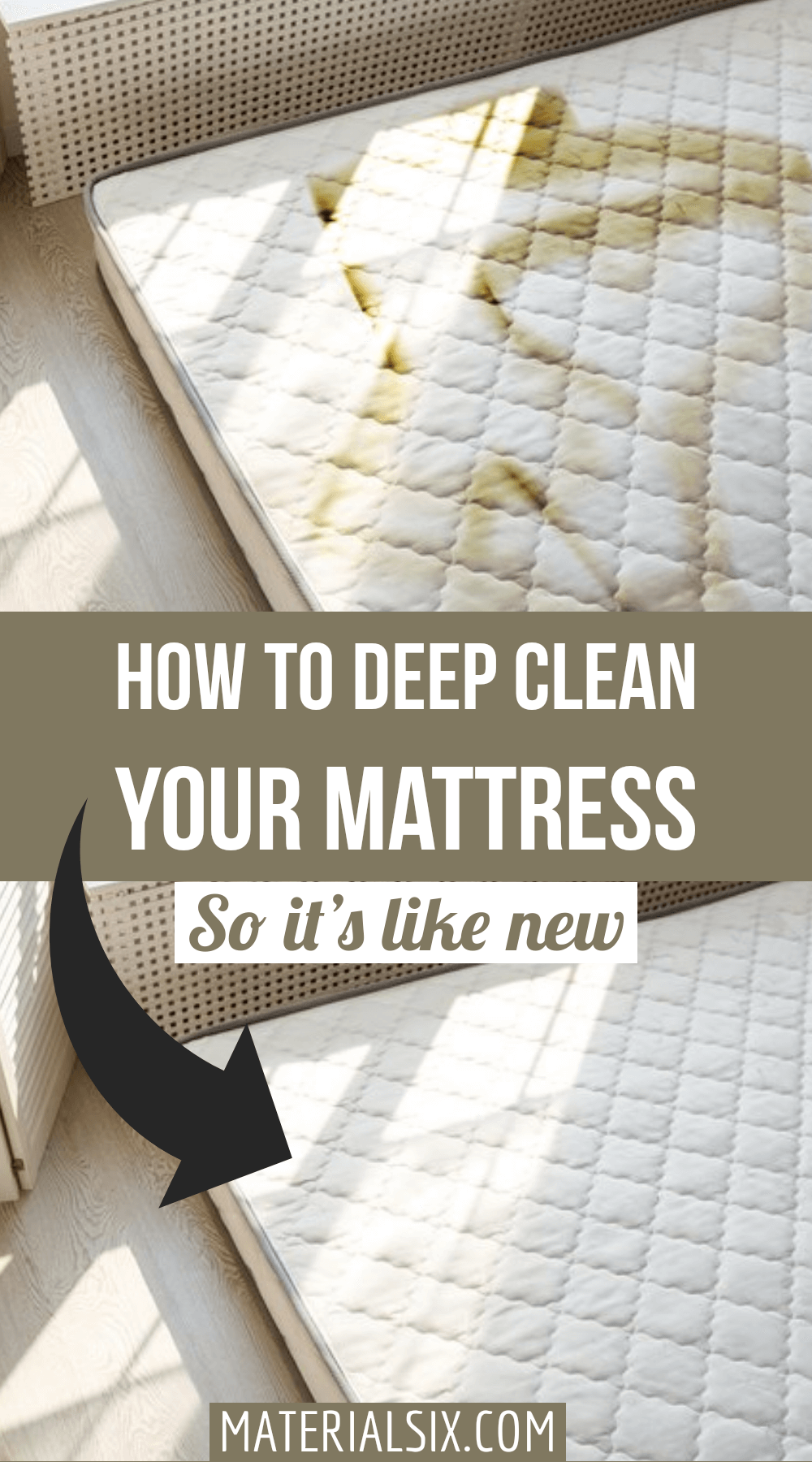 How to clean a mattress in 9 simple steps