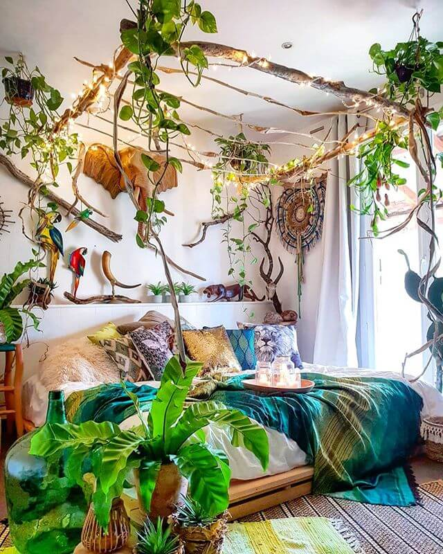 Garden Party Everyday - Boho Bedroom