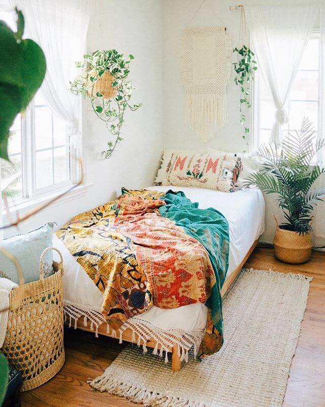 Cozy Bohemian Bedroom