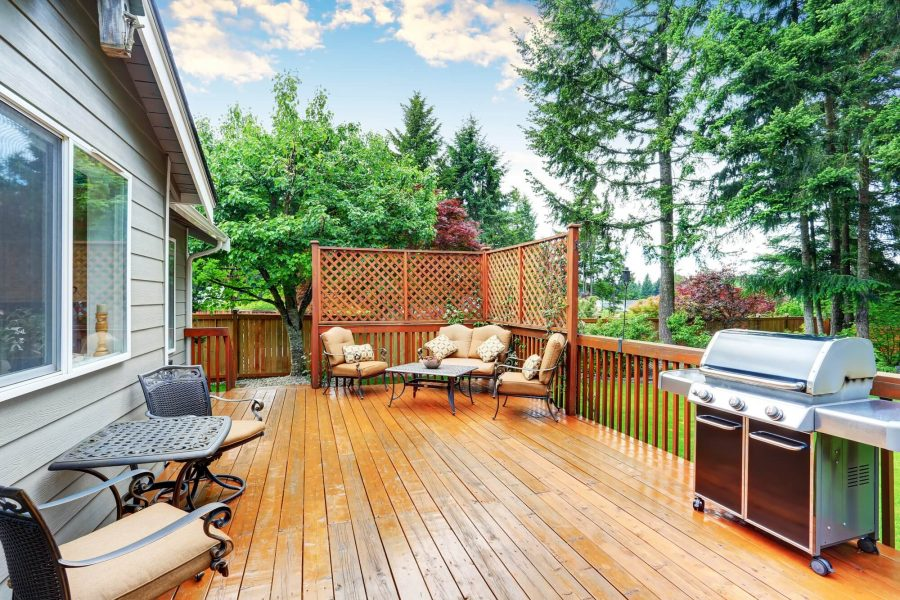Bring Your Kitchen Outdoor - deck decorating ideas