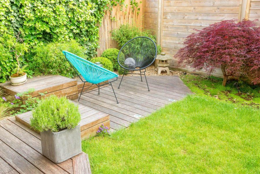 Introduce a Piece of Furniture - Deck Decorating Ideas