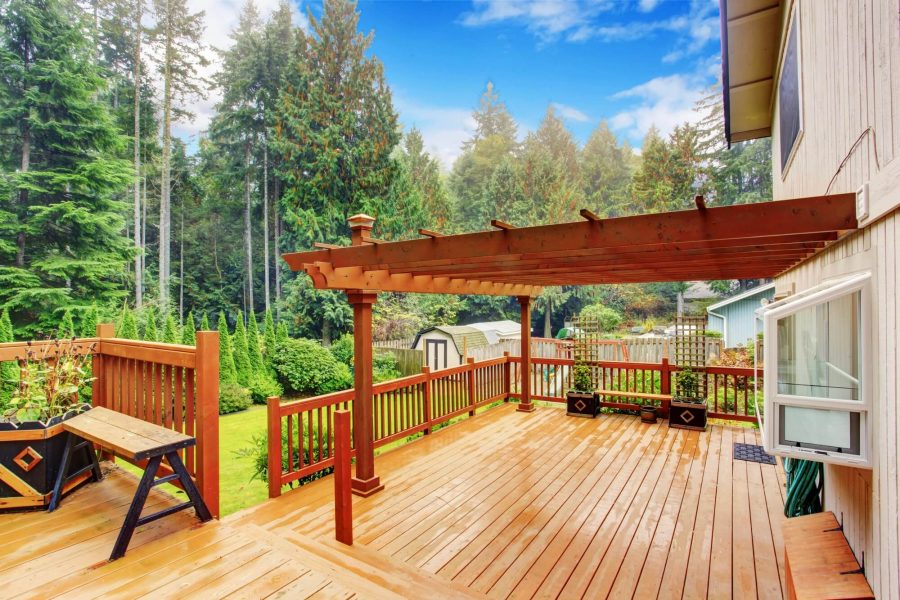 Wooden Pergolas - Deck Decorating IDeas