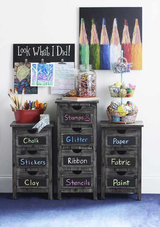 Chalk Board Labeling