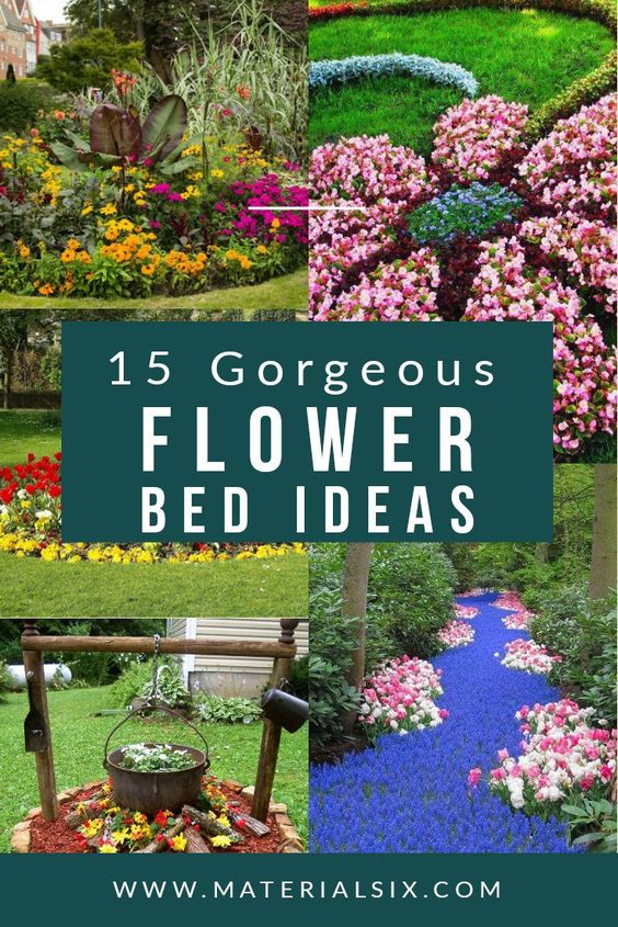 15 Gorgeous Flower Bed Ideas