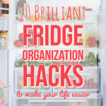 20 Brilliant Fridge Organization Hacks