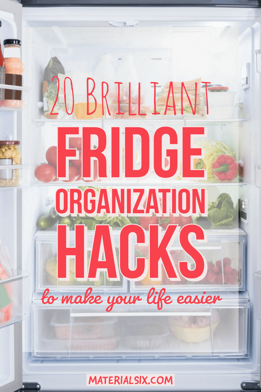 20 Brilliant Fridge Organization Hacks