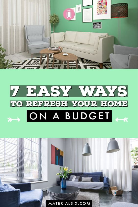 How to refresh your home on a budget