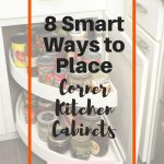8 Smart Ways to Place Corner Kitchen Cabinets