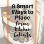 8 Smart Ways to Place Corner Kitchen Cabinets