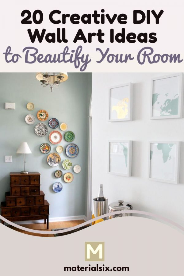 Creative DIY wall art ideas to beautify your room