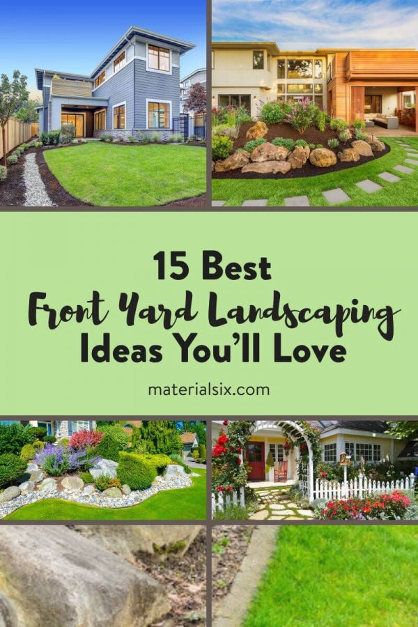 15 Best Front Yard Landscaping Ideas You'll Love