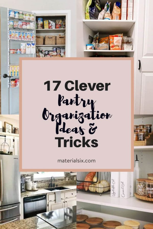 17 Clever Pantry Organization Ideas