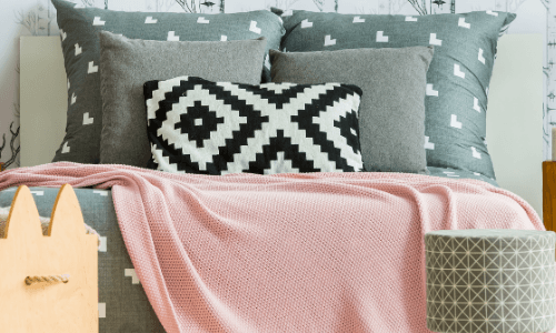 Bedroom Makeover Ideas_ Decorative and Pattern Pillows