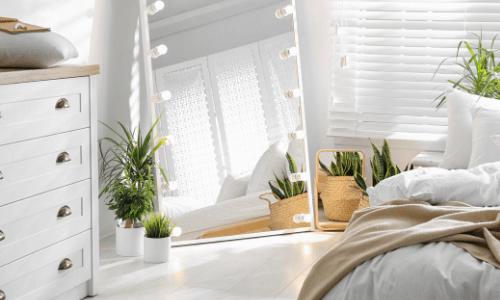 Natural Lighting & Light Bulbs - Bedroom Makeover Ideas on A Budget