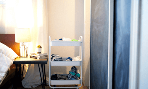 Simple Storages - Bedroom Makeover Ideas on A Budget