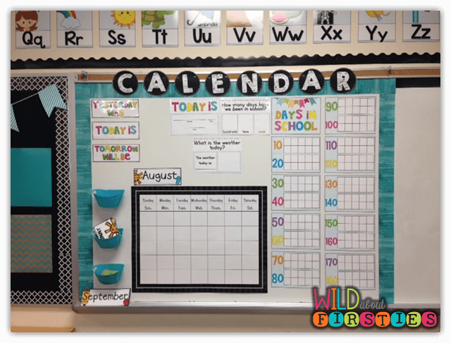 classroom calendar for organising events