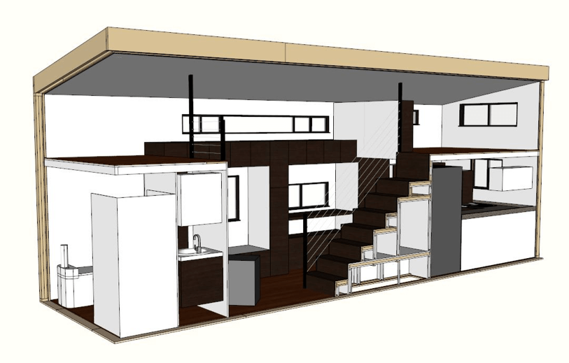 Tiny house building plan