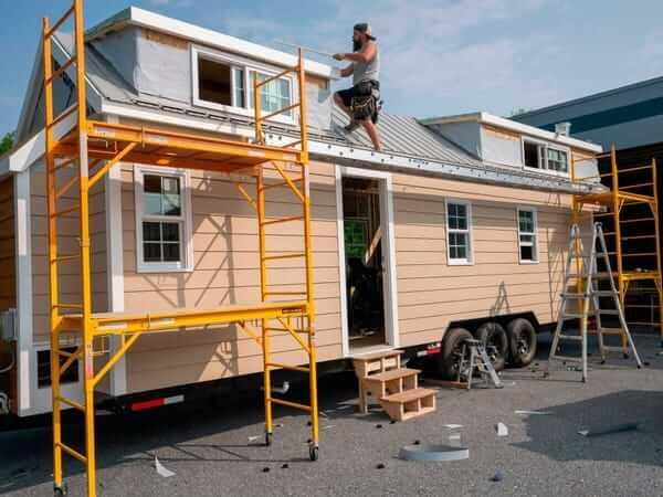 Tiny house maintenance