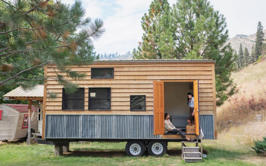 Living in a tiny home