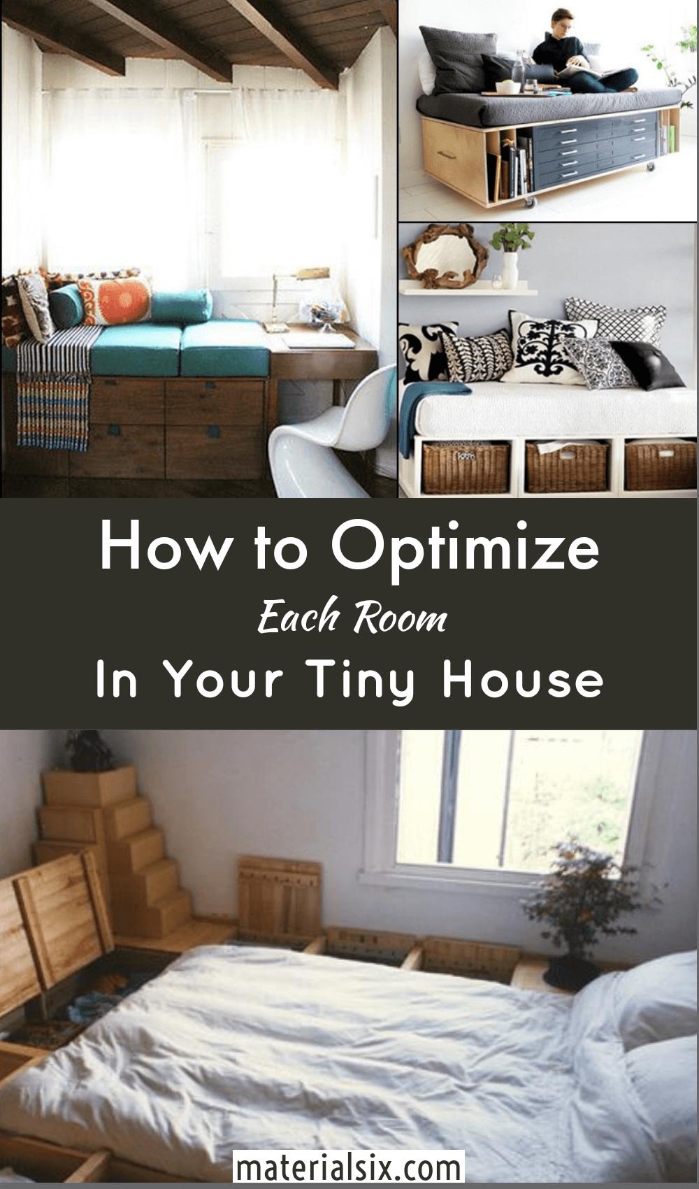 Tiny House organization Hacks Room by Room