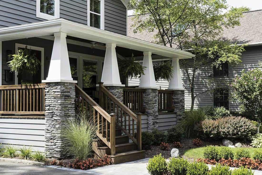 Hang Plants - Front Porch Ideas