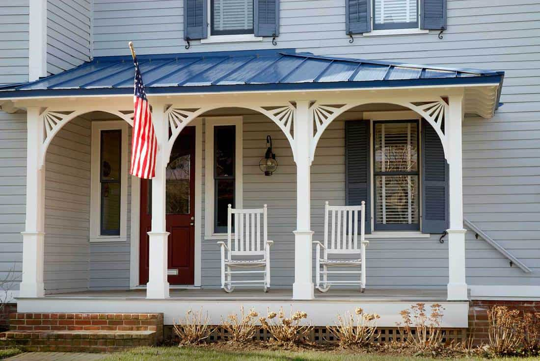 Get Patriotic With Flag Holder - Front Porch Ideas