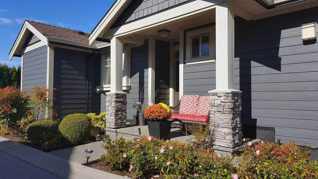 Two-Seaters Front Porch