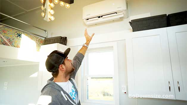 air conditioning for a tiny house