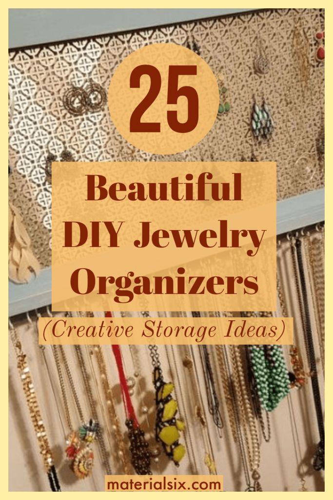 DIY Jewelry Organizers
